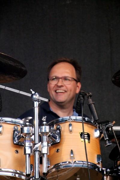 Arjan van der Zande drums